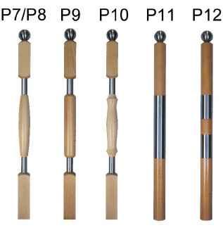 Geländerstäbe Holz/Stahl